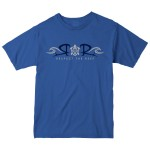 Respect the Reef Aloha Blue Tee